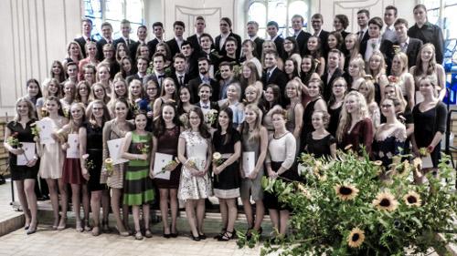 Die 88 stolzen Abiturienten 2016