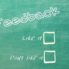 Fragen, Anregungen, Lob oder Kritik? Du hast das Wort!